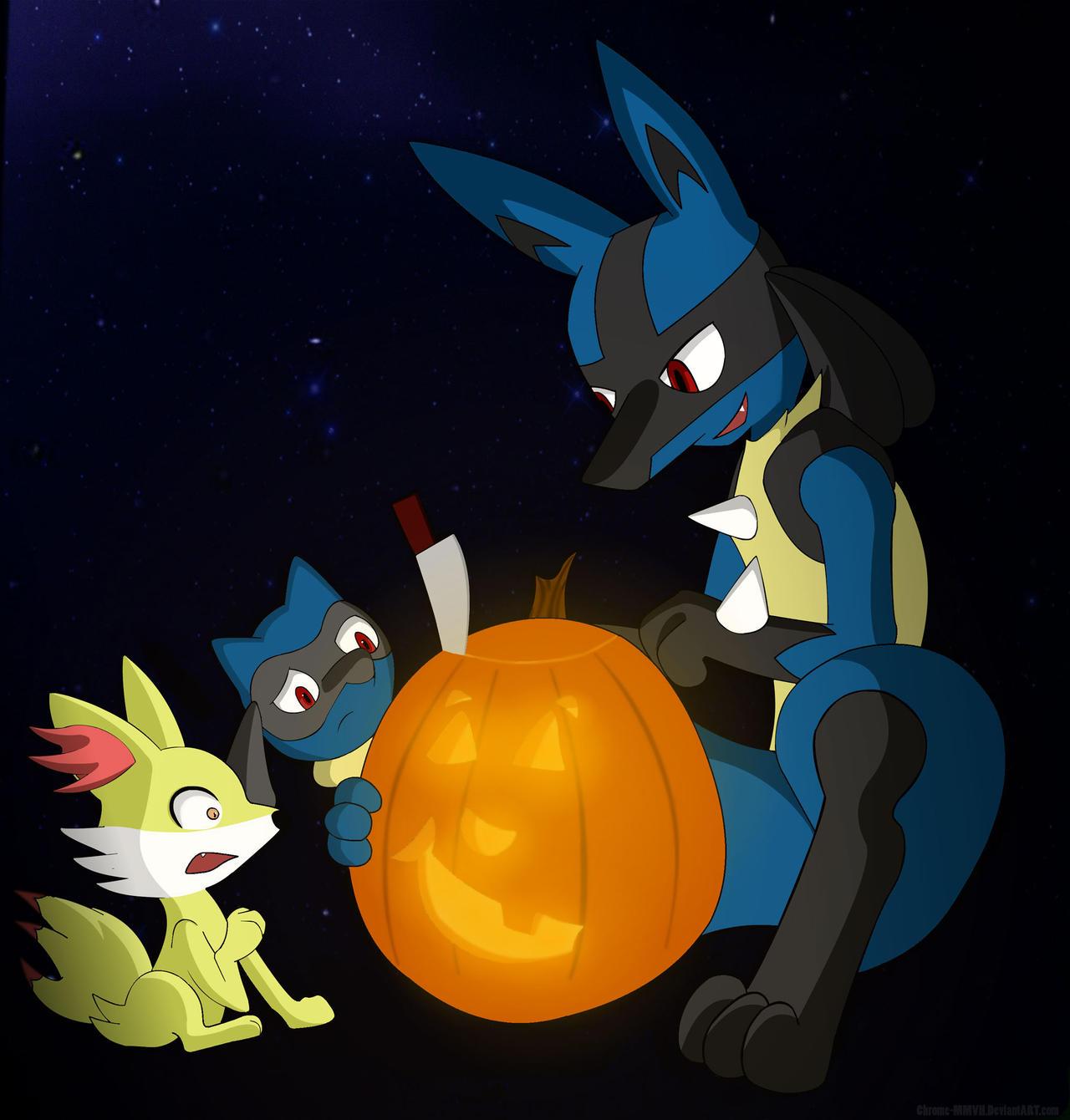 Jack-O-Lantern Horror Story by Dripponi