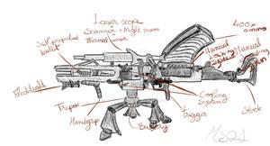 Cyber Gun Mk-300