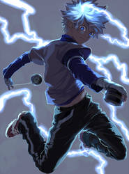 Killua by akitamonster