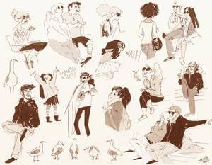 Granville Island Sketches