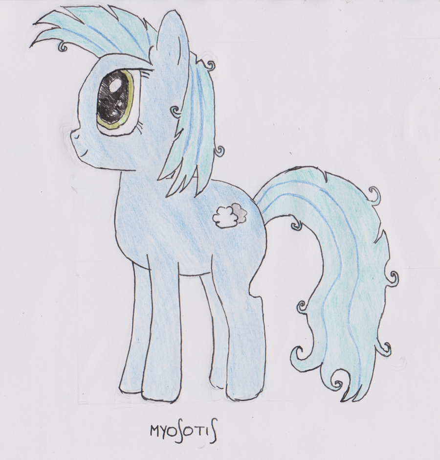 My OC fan art: Myosotis by luissteam