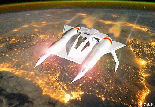 Buck Rogers Thunder Fighter by GuSS