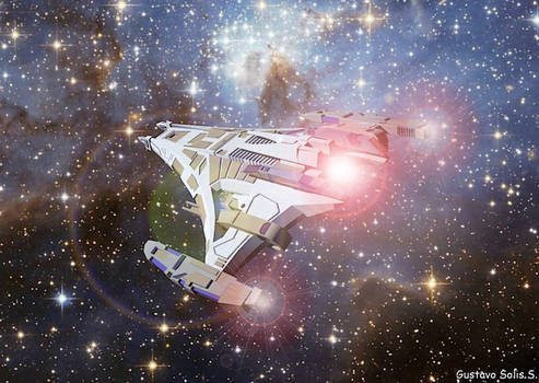 Jem Hadar Battleship Dominion by GuSS