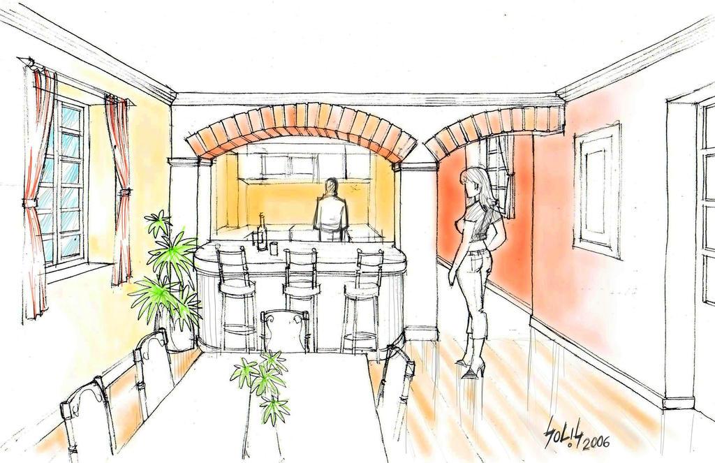 Interior Home GSS1 by gusolsan