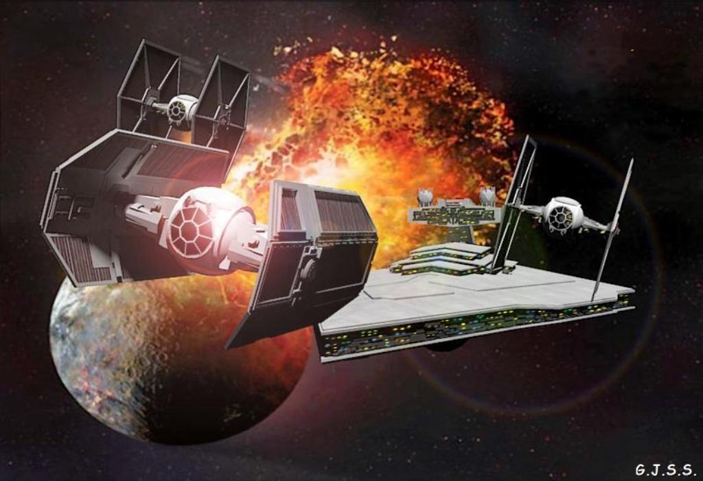 The Empire Attack by GuSS by gusolsan