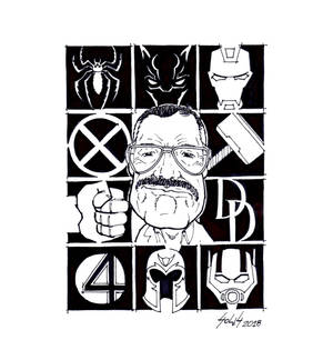 Stan Lee by GuSS