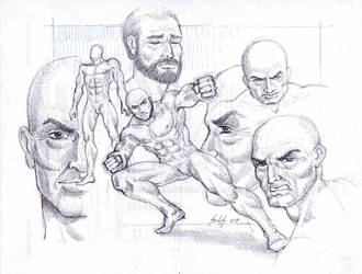 Male sketches 5