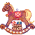 Free to Use || Rocking Horse Icon by cloudylicious