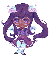 [C] Pixel Doll || Motaii by cloudylicious