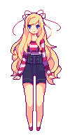 iFabulicious | Pixel Doll by cloudylicious