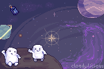 Fat in Spaaaace by cloudylicious