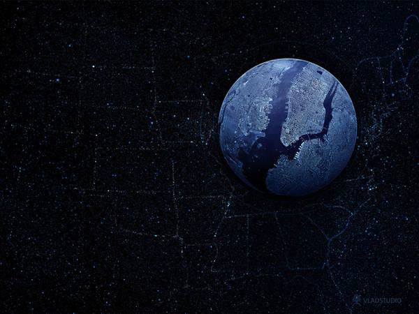 Planet - New York by vladstudio