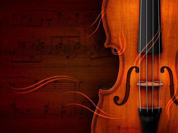 Violin by vladstudio