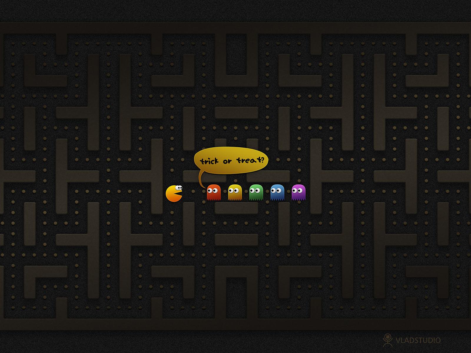 Trick or Treat? PacMan by vladstudio