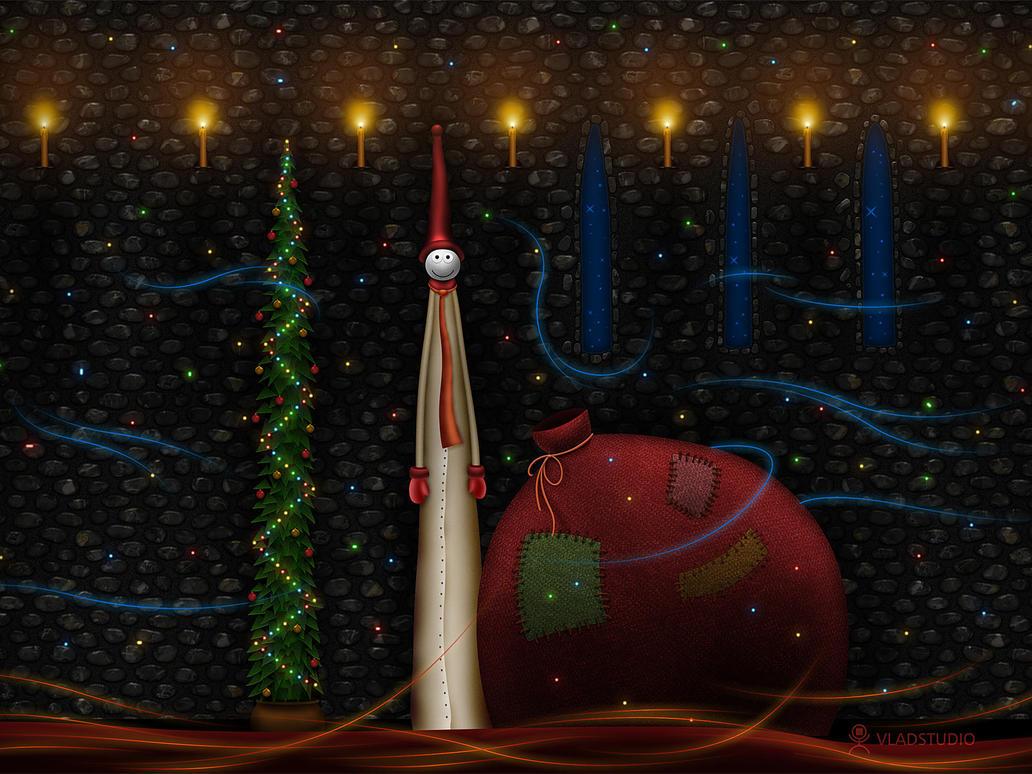 Christmas Bag by vladstudio