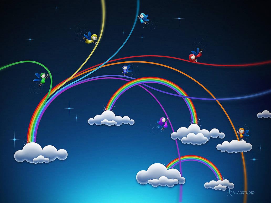 Rainbows by vladstudio