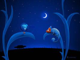 Alien and Chameleon