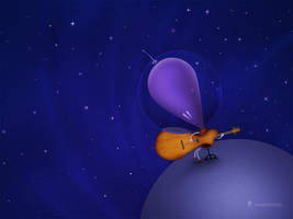 Guitarist by vladstudio