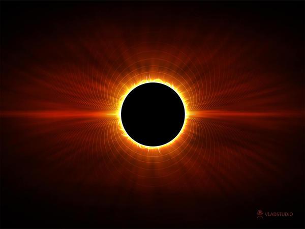 Sun Eclipse by vladstudio