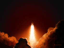 Night Launch by vladstudio
