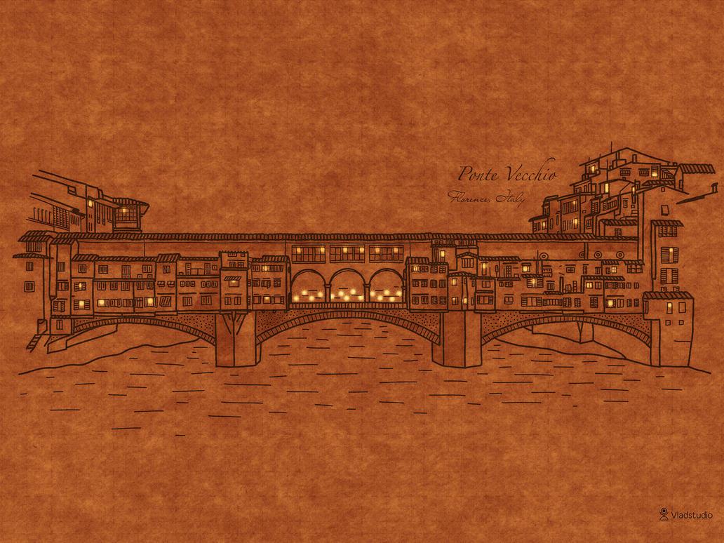Bridges: Ponte Vecchio by vladstudio