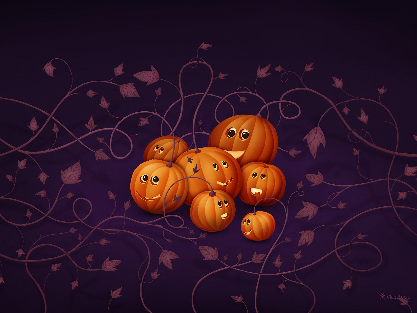Where Pumpkins Are Born by vladstudio