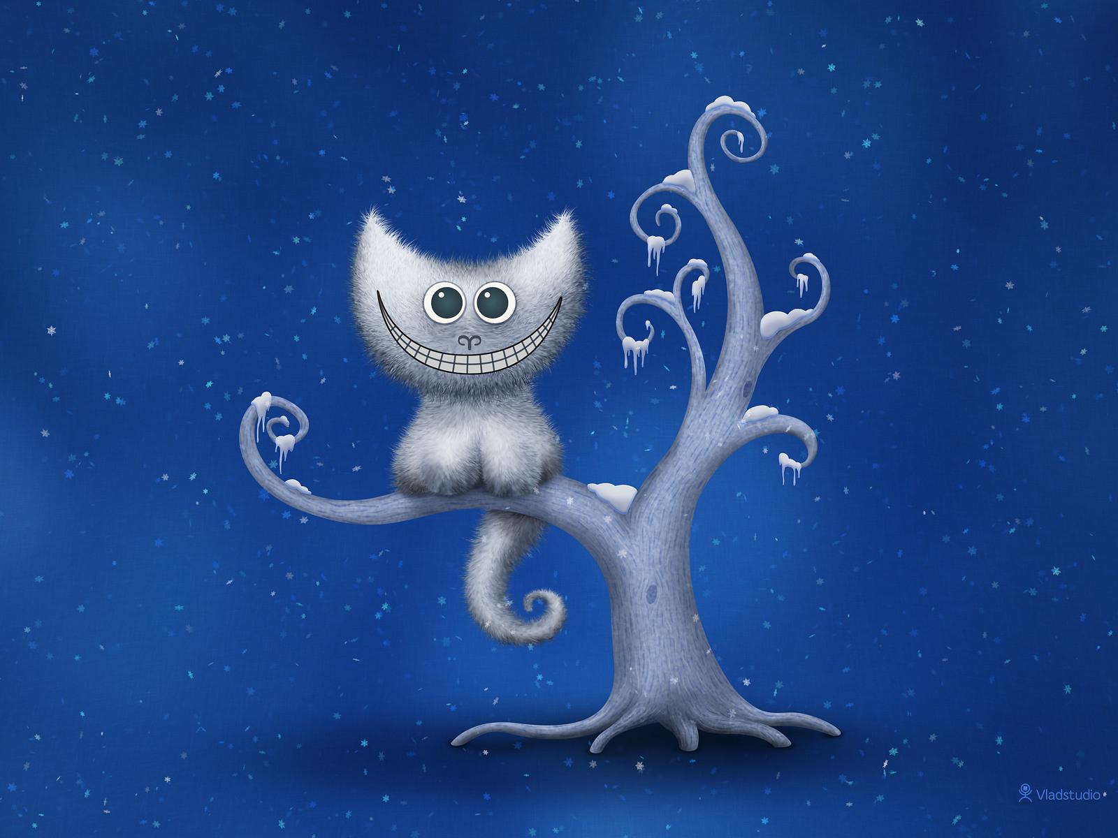 A Cheshire Kitten - Christmas