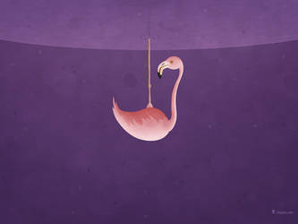 Flamingo by vladstudio