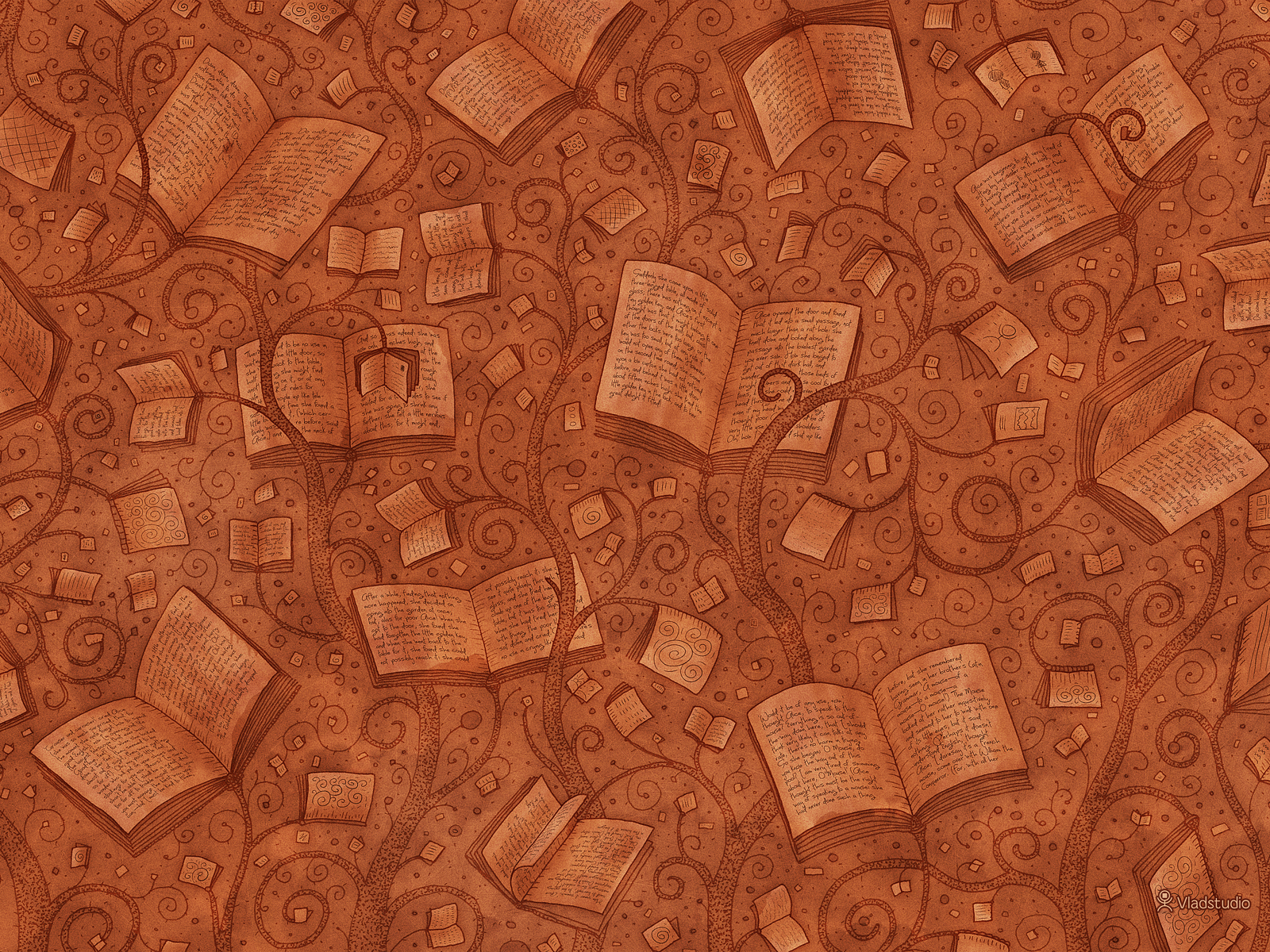 Books Color 2 by vladstudio