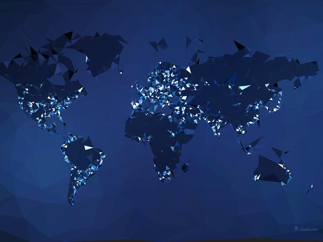 The world simplified night by vladstudio on deviantart the world simplified night by vladstudio gumiabroncs Images