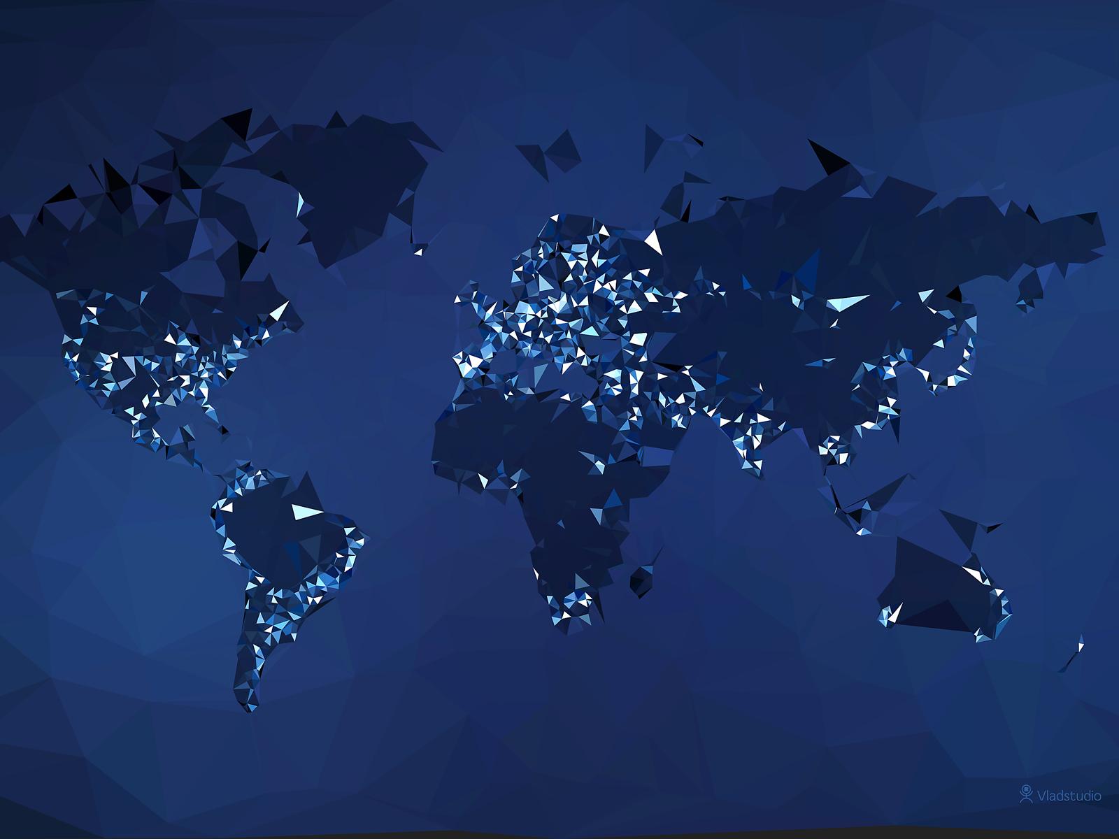 The World Simplified Night by vladstudio on DeviantArt