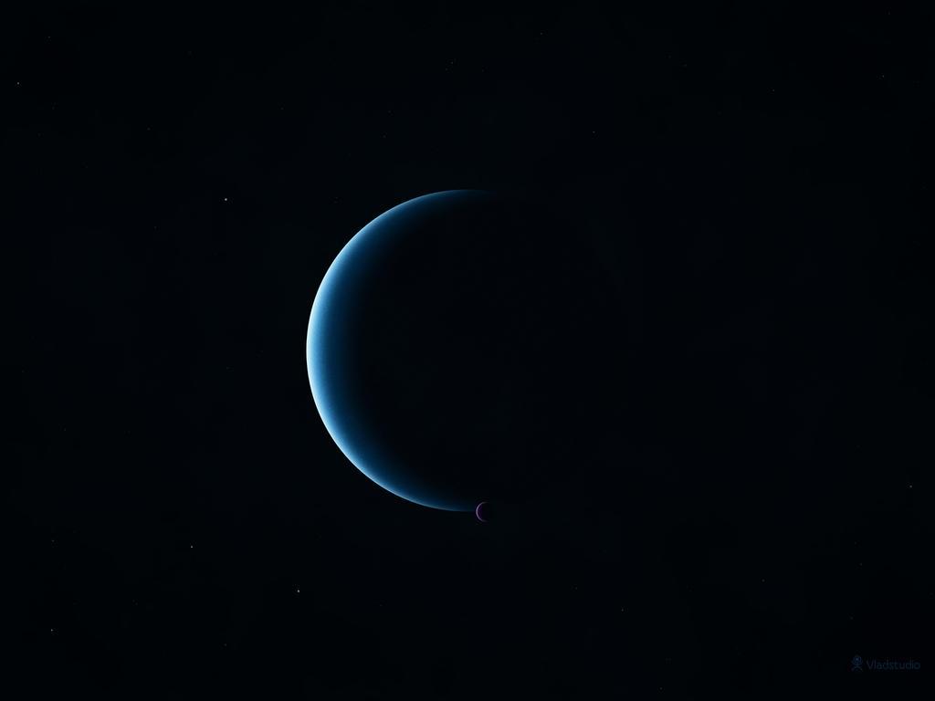 Neptune and Triton by vladstudio