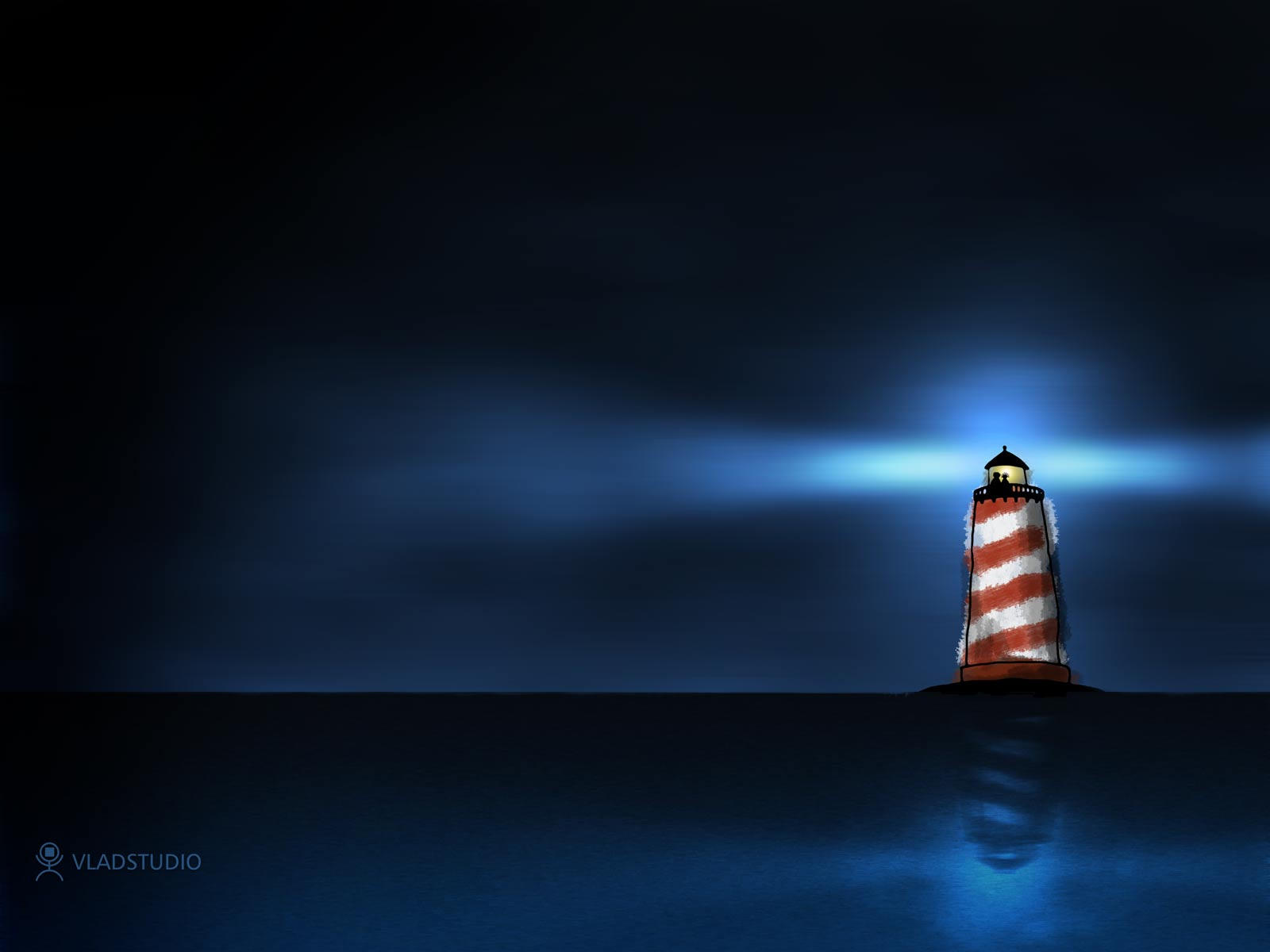 The Two and the Lighthouse by vladstudio