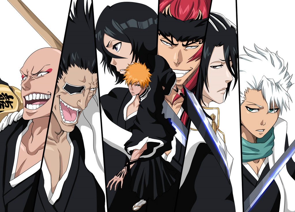bleach characters by dreamingessence on deviantart