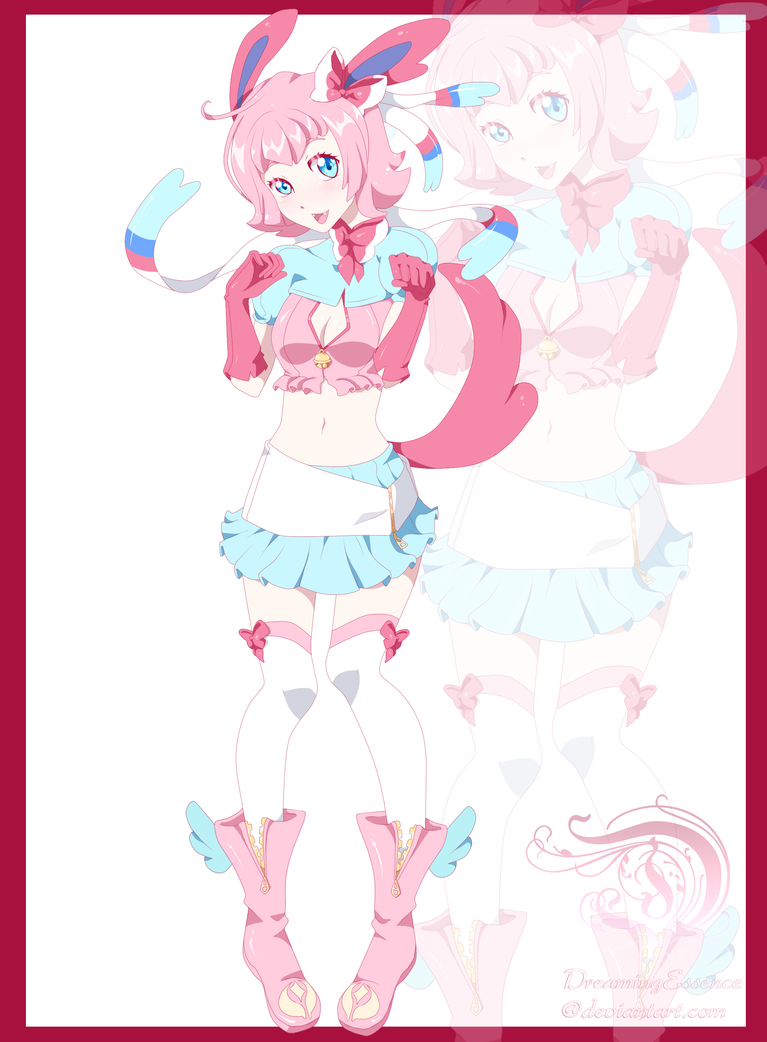 Sylveon Human Form by DreamingEssence on DeviantArt