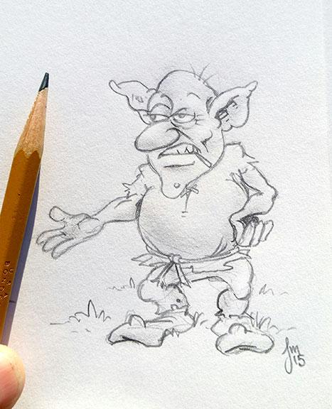 Goblin Week 2015 4 by martianink