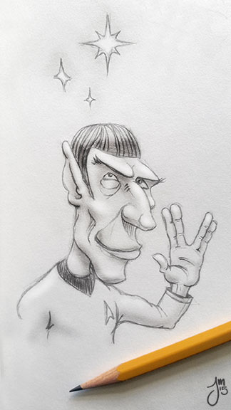 Spock by martianink