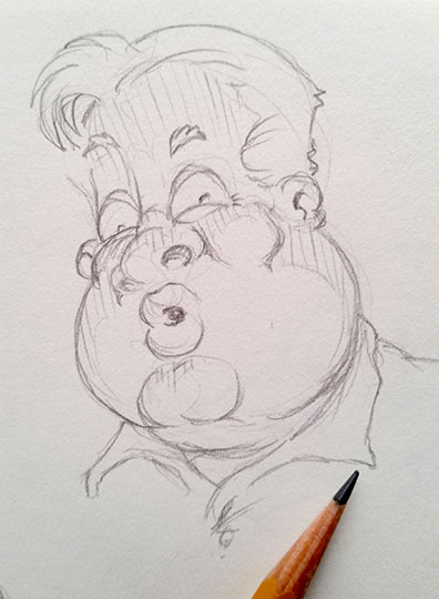 Daily Doodle 3-2-15 by martianink