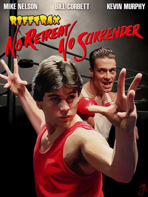 No Retreat No Surrender by martianink
