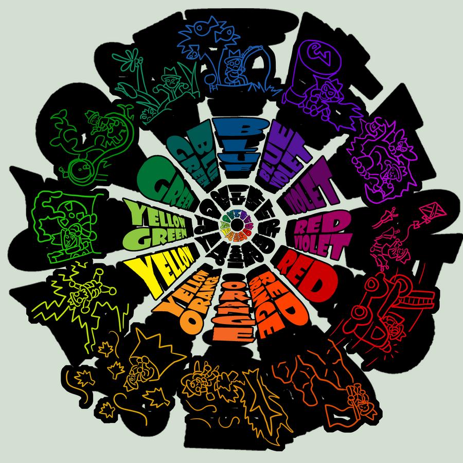 School Project- Color Wheel by CaptnPenguin