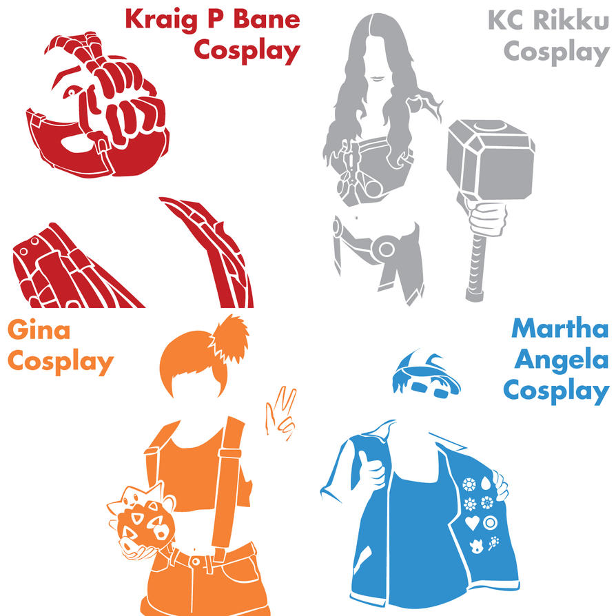 Cosplay Features- Batch 1 by CaptnPenguin