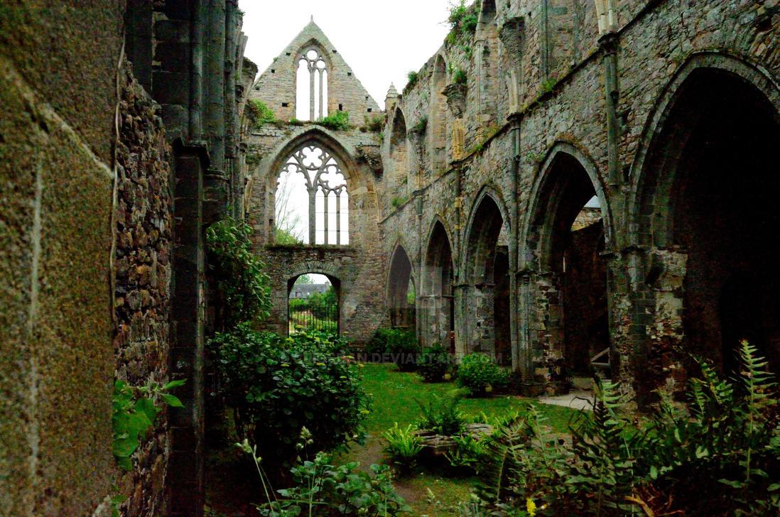 L'Abbaye de Beauport again by Criosdan
