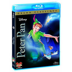 Peter Pan Blu Ray cover french