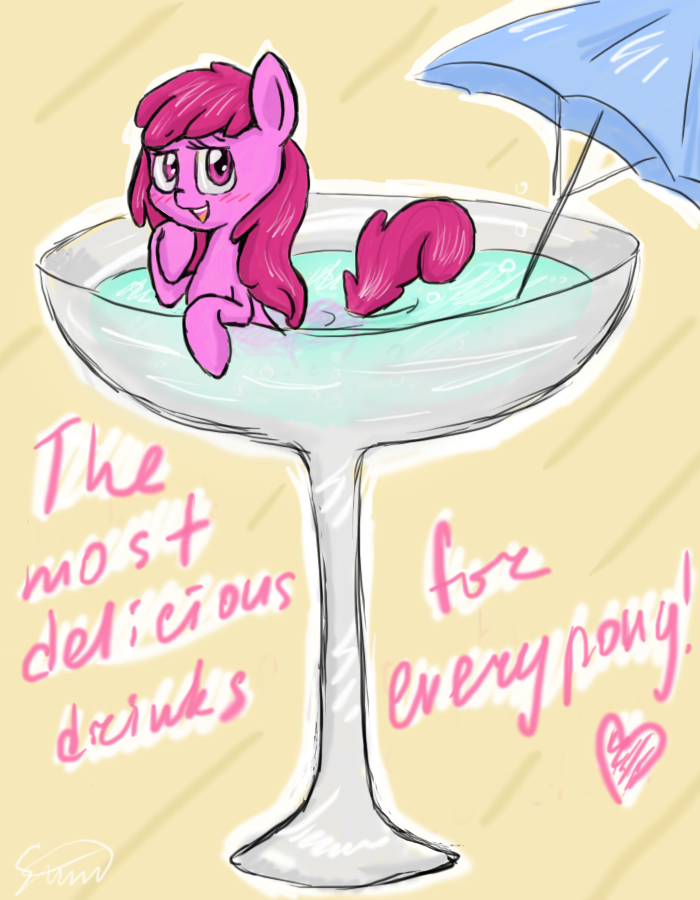 Cocktail with Berry Punch by SilberSternenlicht