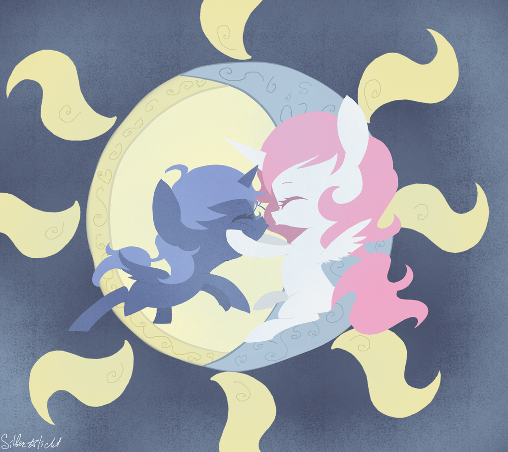Moon and Sun by SilberSternenlicht