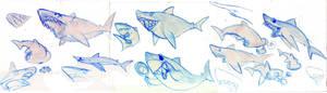 sharkweek shitescribbles