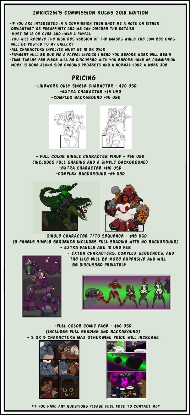 imric1251 commission prices 2018 by imric1251