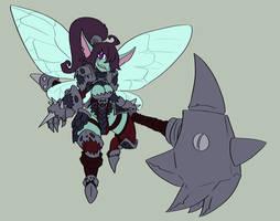 pixie character design