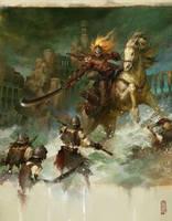 warrior by masterkey23