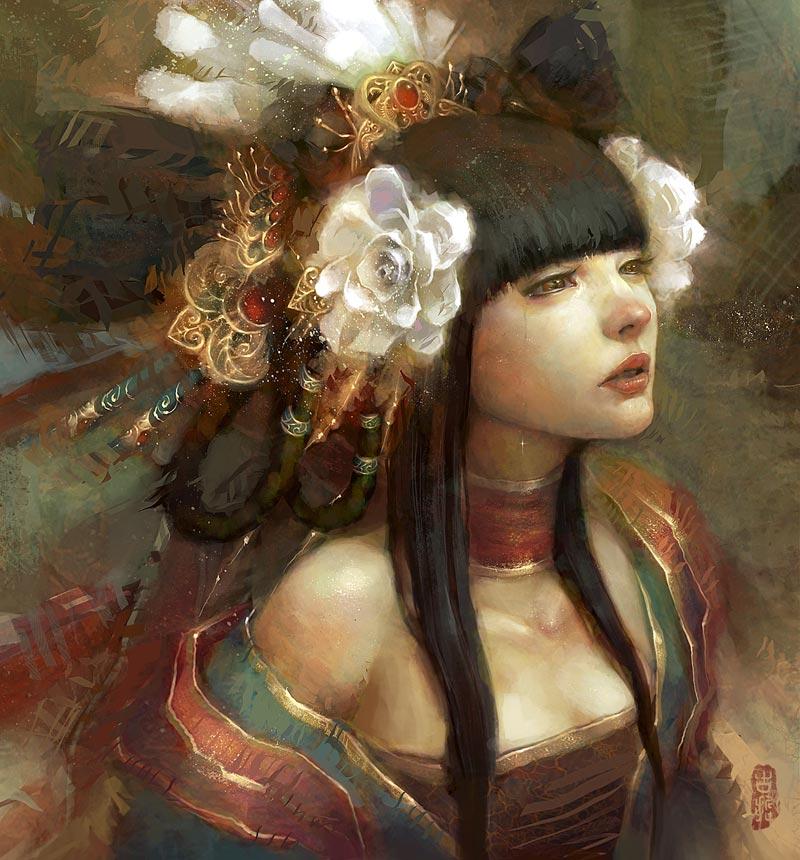 Flower elf by masterkey23
